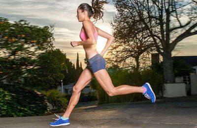 chạy bộ giảm mỡ bụng cho nữ