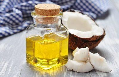 dầu dừa trị viêm nang lông